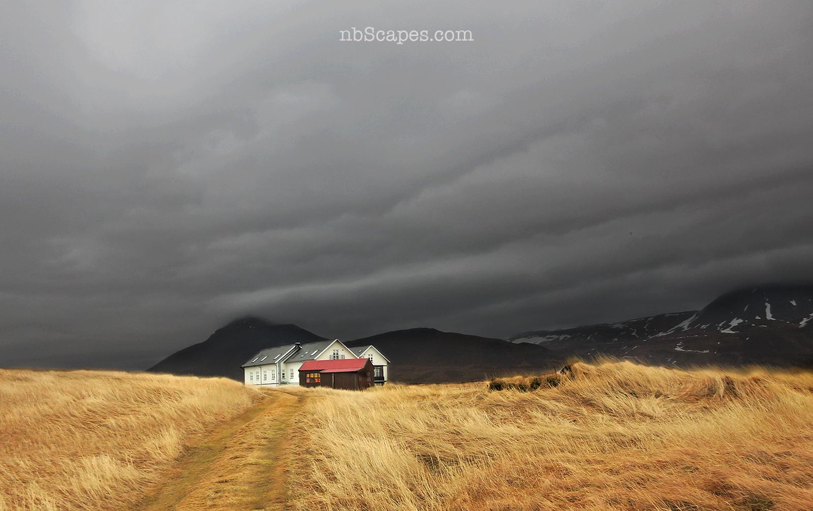 Budir Iceland Landscape