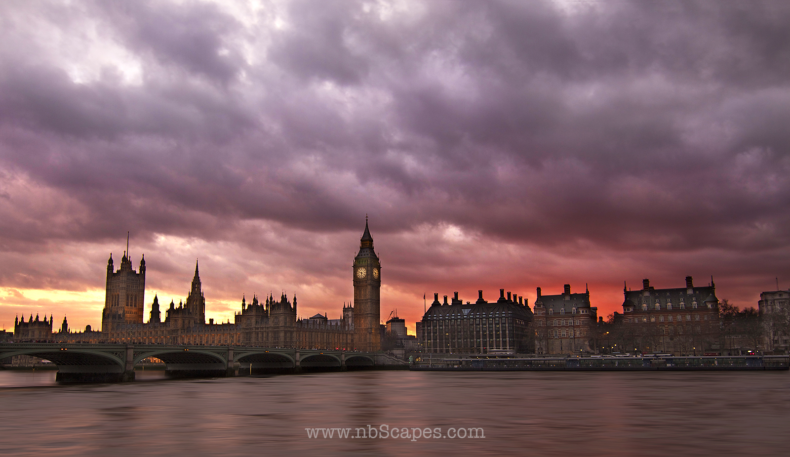 London in Evening