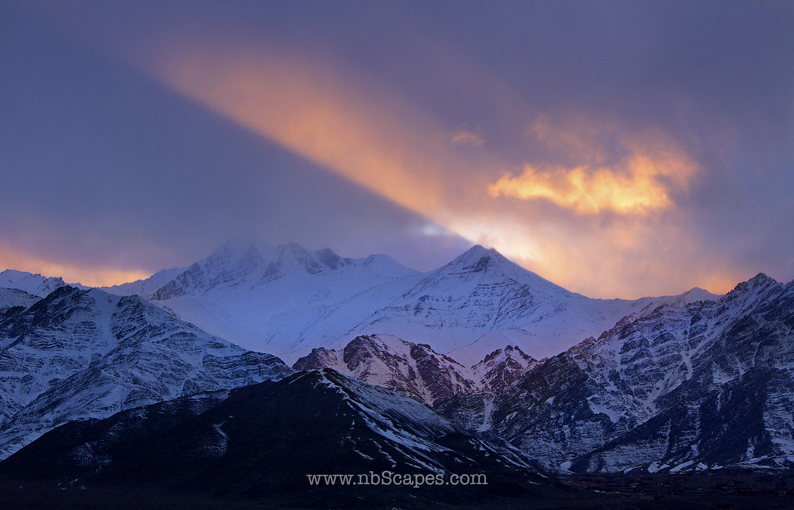 The Last Light on the Himalaya